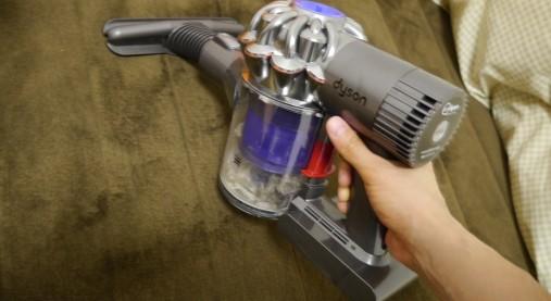 ダイソンDC61でふとん掃除