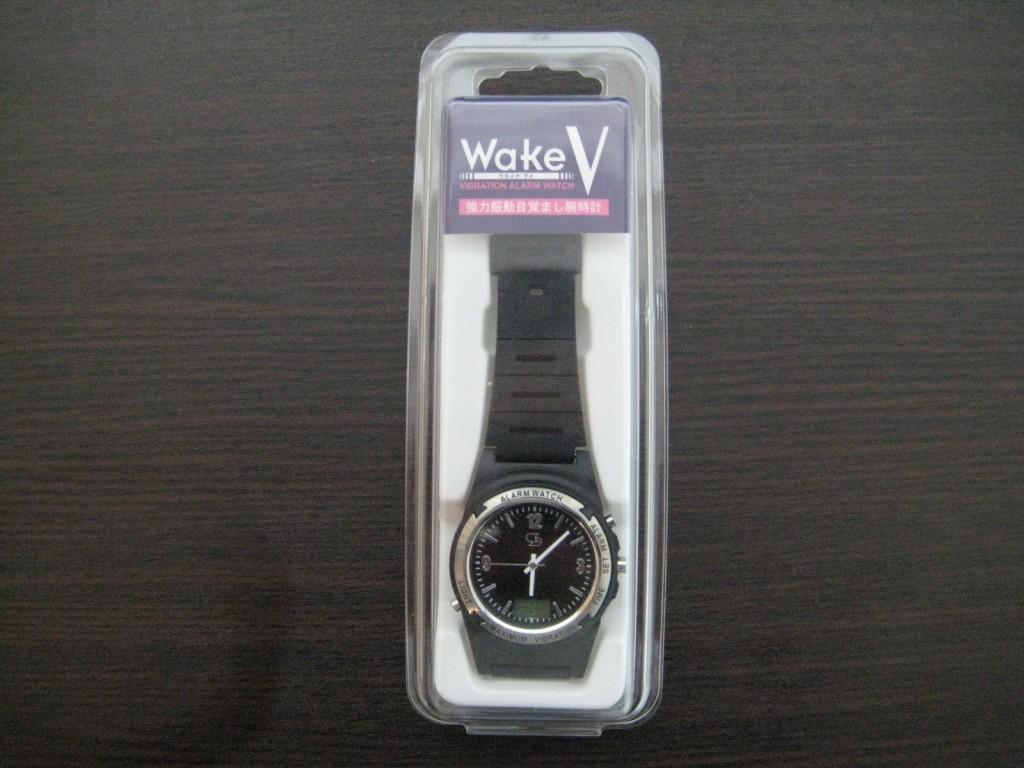 【強力!】振動目覚まし腕時計「Wake V」(ウエイク・ブイ)で寝起きが確実!