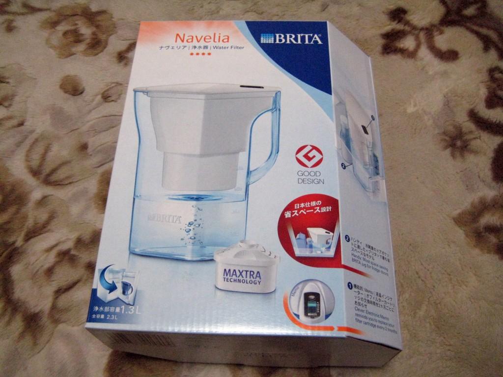 【節約!】ペットボトルはやめてBRITAの浄水器にしたはなし。