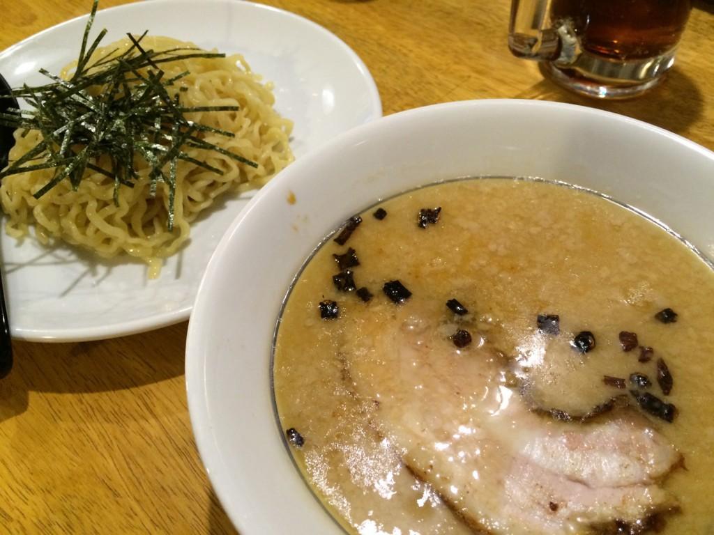 お気に入りのつけ麺は「麺屋壱 松山店」です。