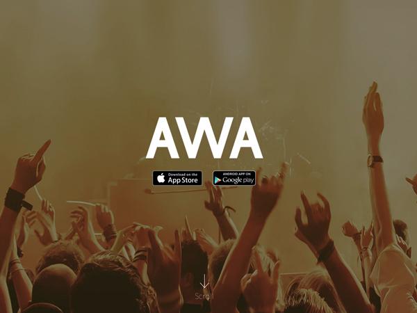 「AWA(アワ)」音楽配信アプリがいまお気に入りですよ。